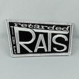 Retarded Rats - Logo Patch - gestickt